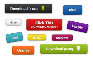 CSS3 Buttons - dCodes