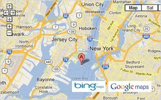 bing maps google
