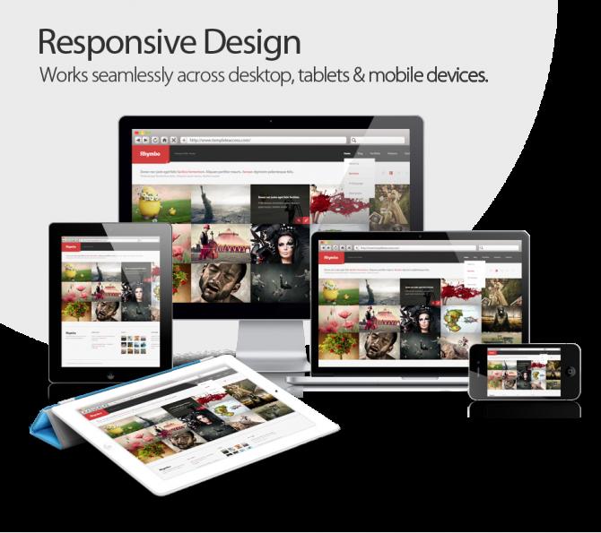 Responsive Design - Works across Desktops, Tablets & Mobile Devices