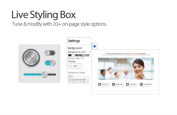 Live Styling Box